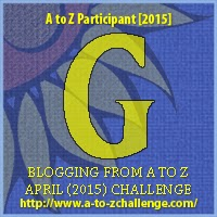 Click on this badge to go to the A to Z Challenge website - cheers!